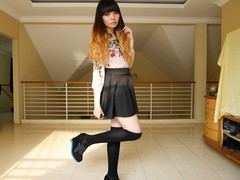 Deedee-16 (treasurebelle) Tags: me girl indonesia indonesian deedee gyaru selca ombrehair treasurebelle piccolettabelle gyarucoords