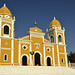 La bella chiesa coloniale di Masatepe, ultimo paesino dei Pueblos Blancos
