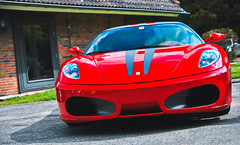 F430, by JD Customs. (Jurriaan Vogel) Tags: auto red cars sports car sport season photography nikon automobile meeting automotive super ferrari event f 1750 opening mm jd breda tamron rosso scuderia supercar vogel 2012 customs f430 430 sportcar d60 jurriaan ulvenhout rampante 2013 cavalinno supercardrive