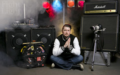 Self Port (youreviewuk.com) Tags: camera portrait music selfportrait me self canon person photography lights cab smoke tripod amp drumsticks mixingdesk stagelights portraitphotography drumcase hardcase fightthelight