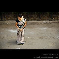 Waiting For Ther (Sathish_Photography) Tags: she india streets car festival lady temple photography for big waiting weekend madras young size photowalk after chennai society tamilnadu sathish psm cwc ther clickers completes triplicane koalam