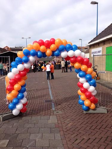 Ballonboog 6m Koninginnedag Maassluis