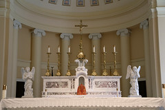 Altar of the Cathedral of the Assumption of the Blessed Virgin Mary (Jim, the Photographer) Tags: catholic cathedral roman basilica baltimore assumption bvm