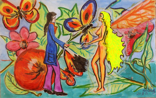 Early Fairy Artwork 1971