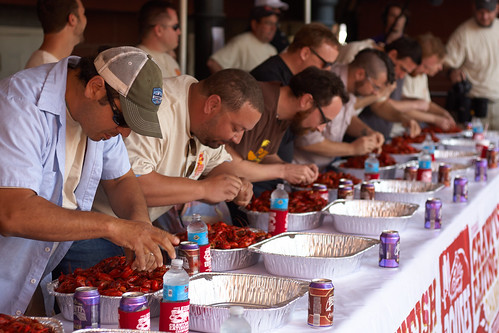 Crawfish Eating Championship