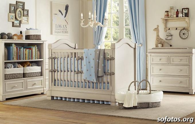 decorações para quartos de bebes