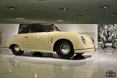 Porsche 356/2 Cabriolet - Porsche Museum (rbpdesigner) Tags: slr cars tourism car germany deutschland europa europe stuttgart culture voiture coche porsch