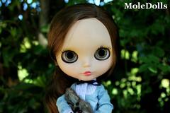 OOAK Custom Blythe N.62 by MoleDolls