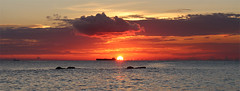 Curaao Sunset (russ david) Tags: ocean sunset sea netherlands december southern caribbean curaao antilles 2013
