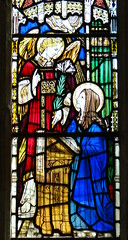 Chinnor, Oxfordshire (Sheepdog Rex) Tags: stainedglass annunciation standrewschurch chinnor