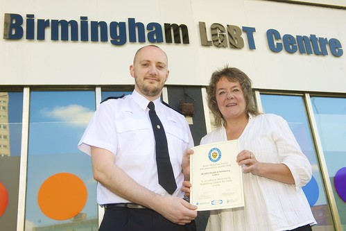 Day 137 - West Midlands Police - New LGBT hate crime centre
