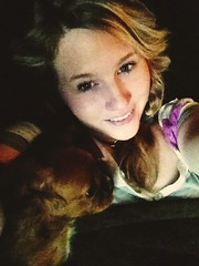 nap time with a sweet puppy I'm babysitting.. (Amanda Krieg) Tags: self puppy king charles cuddle iphone
