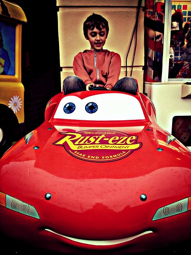 Rust-eze Lightening McQueen & Alfie
