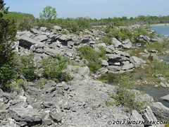 Wainfleet Quarry 201305-20 (Wolfmaan) Tags: camping ontario canada outdoors hiking barefoot barfuss wainfleet
