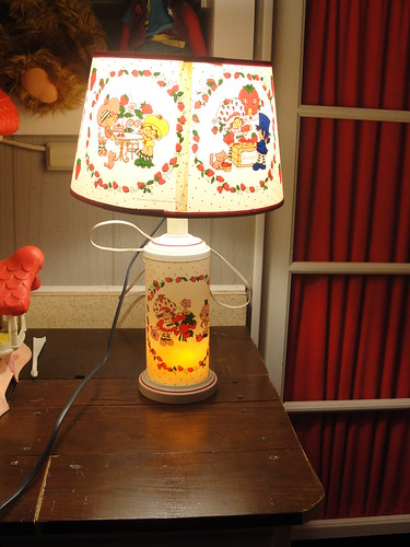 Strawberry shortcake lamp
