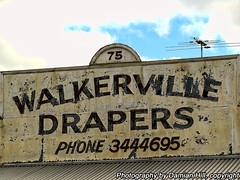 Walkerville Drapers, Walkerville Tce (baytram366) Tags: old signs heritage stone architecture corner buildings lights sussex hotel hall store phone traffic terrace library south australia stephen shops adelaide council suburbs eastern walkerville drapers tce