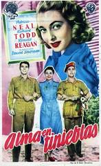 Alma en tinieblas (Kirby York) Tags: de cine mano carteles ronaldreagan movieposters norteamericano programas blico classicfilms