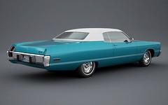 1973 Chrysler Newport 2-Door Hardtop (Robin'7t4) Tags: 3d render newport chrysler 1973