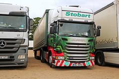 ESE15031 JOY 3SL 5970 (Barrytaxi) Tags: transport eddie ese scania lhd 4x2 stobart eddiestobart