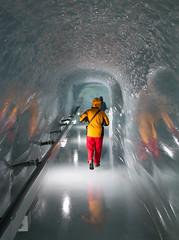 Ice corridor, Jungfraujoch, Switzerland (maxunterwegs) Tags: corridor eis gelo glace hielo ice jungfraujoch schweiz suisse suiza sua switzerland fieschertal wallis