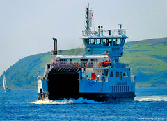 Scotland West Highlands Argyll car ferry Loch Shira island of Cumbrae 16 August 2016 by Anne MacKay (Anne MacKay images of interest & wonder) Tags: scotland west highlands argyll caledonian macbrayne car ferry loch shira passenger ship island cumbrae xs1 16 august 2016 picture by anne mackay