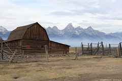Moulton Barn, Jackson Hole, Wyoming (David C. McCormack) Tags: ranch barn rural rockymountains wyoming tetons nationalparks grandteton jacksonhole moulton grandtetonnationalpark jacksonwyoming nationalregisterofhistoricplaces mormonrow eos6d