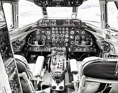 Vickers Viscount Cockpit (cyberdavis) Tags: brooklands brooklandsmuseum museum vickers vickersviscount viscount weybridge aircraft canon canon5dmarkiii eos 5diii 5d 5dmarkiii airplane flight