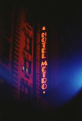 IMG_20160824_0010 (SWEW) Tags: street rue newyork ny film analog color nikonf3 lightleak night neon