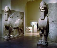 Metropolitan Museum of Art (Stabbur's Master) Tags: metropolitanmuseumofart nyc newyork newyorkcity manhattan ancientneareasternart assyrian assyrianguardians wingedlion wingedbull palaceofashurnasirpalii nimrud museum