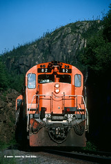 QCM 82 Tunnel-1 QC 7-15-2000 (Frater Operator) Tags: quebeccartiermining chemindefer alco