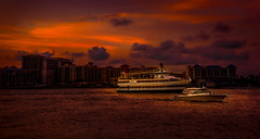 Under the Twilight (JDS Fine Art & Fashion Photography) Tags: boats ships cruise twilight colors nightlights urban water ocean beach