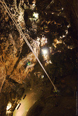 Acrophobia (Cjasar) Tags: caving descent rappelling rope grottismo calata grottagigante cave chamber shaft height pozzo caverna altezza vuoto