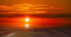 Red Hot Sunset (Nigel_Harrison) Tags: redhot sunset sun beach warmth warm holiday sunsets holidays