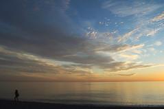 Atardecer en Playa de San Cristbal ALMUCAR (Toms Hornos) Tags: september mirror sunset puestadesol atardecer scenary d7100 tomashornos almucar granada costatropical playa sea beach sky cielo mar mediterraneo mer azul blue bleu autumn sun
