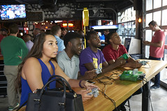 Kick-Off Party  BS0U6991 (TechweekInc) Tags: updown kc techweek event 2016 startup technology tw innovation kansas city tech fest kick off party garmin executive attendees beer wine counter