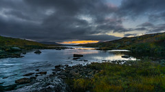 Evening light. (Tore Thiis Fjeld) Tags: evening light late lastlight mountains outdoor nature river reflection afterglow lierne nationalpark nasjonalpark blfjellaskjkerfjellanasjonalpark autumn autumncolors clouds sky wilderness sonya6000 norway nordtrndelag