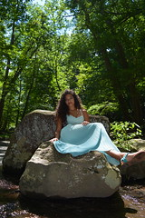 'Nature Goddess' (miranda.valenti12) Tags: nature goddess athena rocks rock wilderness outside outdoors forest woods portrait posing sitting leaves tree trees green greenery sky woodsy smile smiling happy