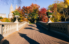 It is officially Autumn, and colors in New York will start to change soon (RomanK Photography) Tags: autumn centralpark manhattan nyc newyorkcity bowbridge city fall nature sonyalpha