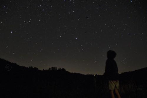 La tête dans les étoiles !