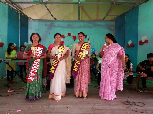 Teachers Awarded for Max. Attendance, Year 2015-16