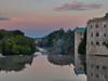 St. Andrew's Mill Condos, Fergus, Ontario (virgil martin) Tags: dawn reflection grandriver fergus wellingtoncounty ontario canada olympusomdem5 oloneo gimp samyang35mmf14