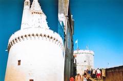 La Rochelle (BeefySquarms) Tags: larochelle dianamini 35mm diana lomography filmphotography film photography seaside castle beautifulscenery blueskies halfframeshots filmisnotdead doubleexposure
