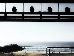 Melancholy. (Poldarkk) Tags: goodbye summer anglet beach sea poldarkk melancholia melancolia arte art soulnaked alma desnuda aquitaine