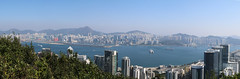 Hong Kong Harbor (Joe <3 Photography) Tags: hongkong harbor ship skyline hillside kaitakairport cruiseterminal runway oceanliner kowloon city urban buildings