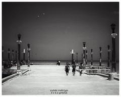 All I ever have (Mister Blur) Tags: blackandwhite muelle sisal dock boys yucatan nikon d7100 35mm