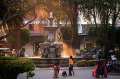 Mermaid Fountain in Sunset Light (danielacon15) Tags: colonial spanish urban outdoors traveldestination antigua guatemala travel worldheritage tourism