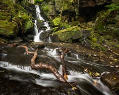Lumsdale Falls (derekgordon1) Tags: waterfall branch river lumsdale matlock moss rocks water longexposure outdoors serene