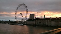 Sunrise from Waterloo Bridge (C*Fletcher) Tags: shine walk london cruk