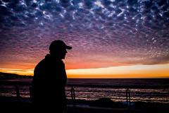 (. . .) Tags: via del mar chile street daily life sunset atardecer sky silhouette landscape orange