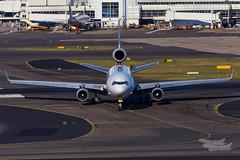 N623FE FedEx MD11F 34L YSSY-7206 (A u s s i e P o m m) Tags: mascot newsouthwales australia au fedex md11f mcdonnelldouglas sydneyairport syd yssy rydgessydneyairport
